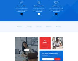 """#16 cho Design me a front page of a Corporate Website """"Balance"""". Winner get a 400$ whole project! bởi Tonisaha"""