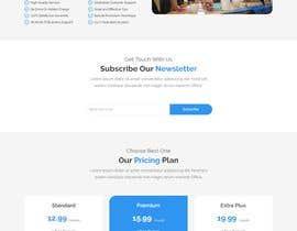 "shahriarfaisal tarafından Design me a front page of a Corporate Website ""Balance"". Winner get a 400$ whole project! için no 8"