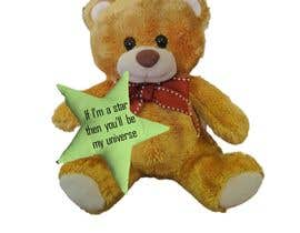 #5 for I need these teddy bears customise for the supporters of our crowdfunding campaign (see www.greenstars.eco). Come up with a cool design (and text) for the front of the star (change the teddy with a heart to a teddy holding a star) and base of the right fo by syafa97