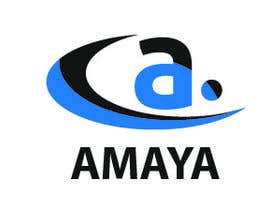 #1 untuk Revise logo of Amaya (attached) to make it symmetrical. If you can provide a better version please do so as well. oleh sachinray823