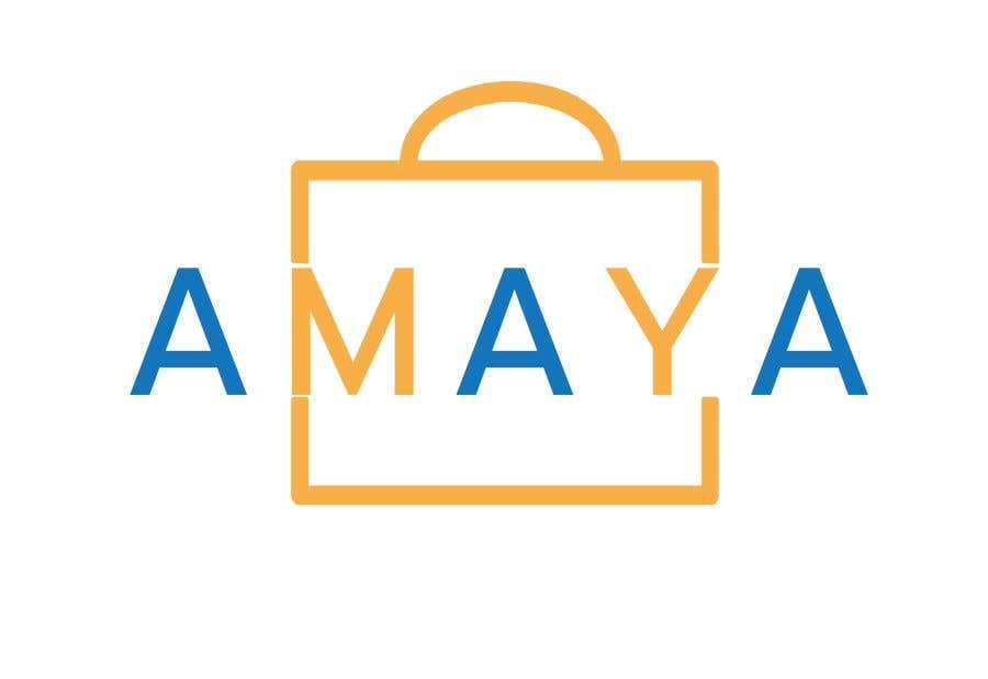 Penyertaan Peraduan #5 untuk Revise logo of Amaya (attached) to make it symmetrical. If you can provide a better version please do so as well.