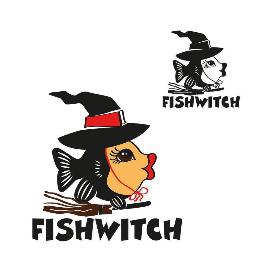 Penyertaan Peraduan #69 untuk Fishwitch Logo/Illustration