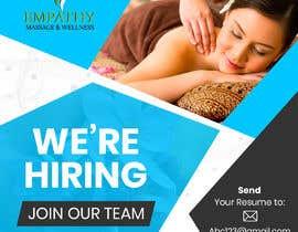 #47 untuk Attractive Hiring Employee Ad Poster oleh SwiftTech3