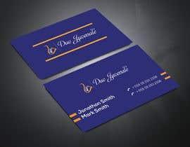 khan3270 tarafından Make a business card for musical duo için no 159