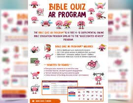 "#37 for Enhance our flyer (for our ""Bible Quiz AR Program"") by moslehu13"