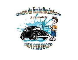 #42 untuk Logo autolavodo de vehiculos oleh omairagallo6