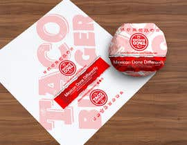 Nro 42 kilpailuun Taco Burger Wrapper Design käyttäjältä pgaak2