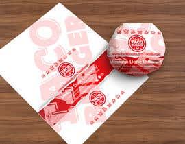 Nro 48 kilpailuun Taco Burger Wrapper Design käyttäjältä pgaak2