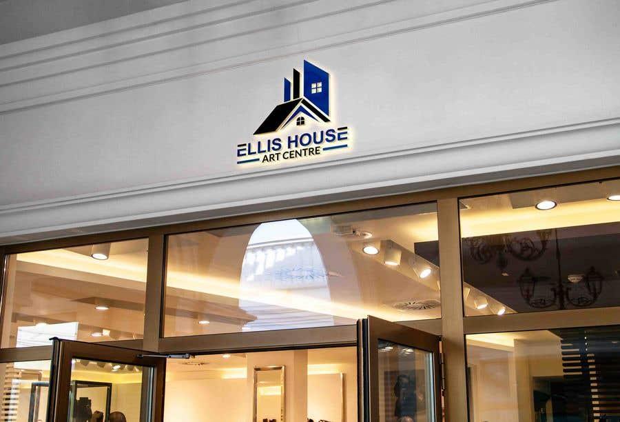 """Intrarea #                                        323                                      pentru concursul """"                                        Logo Design - Ellis House Art Centre                                     """""""