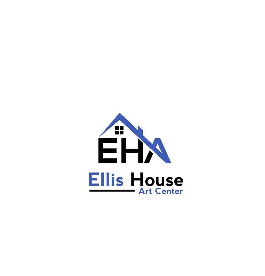 """Intrarea #                                        182                                      pentru concursul """"                                        Logo Design - Ellis House Art Centre                                     """""""