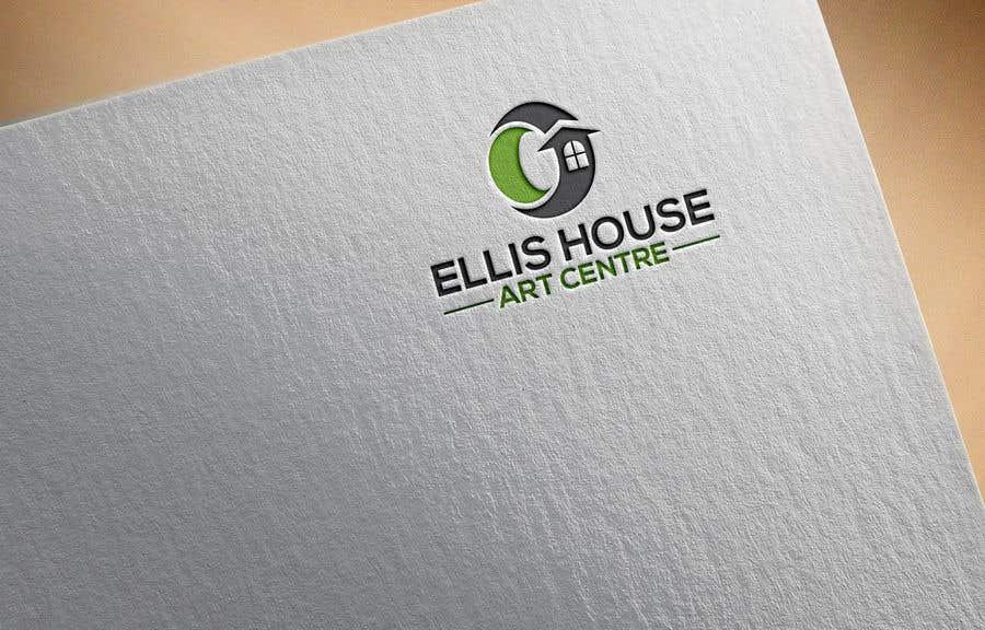 """Intrarea #                                        108                                      pentru concursul """"                                        Logo Design - Ellis House Art Centre                                     """""""