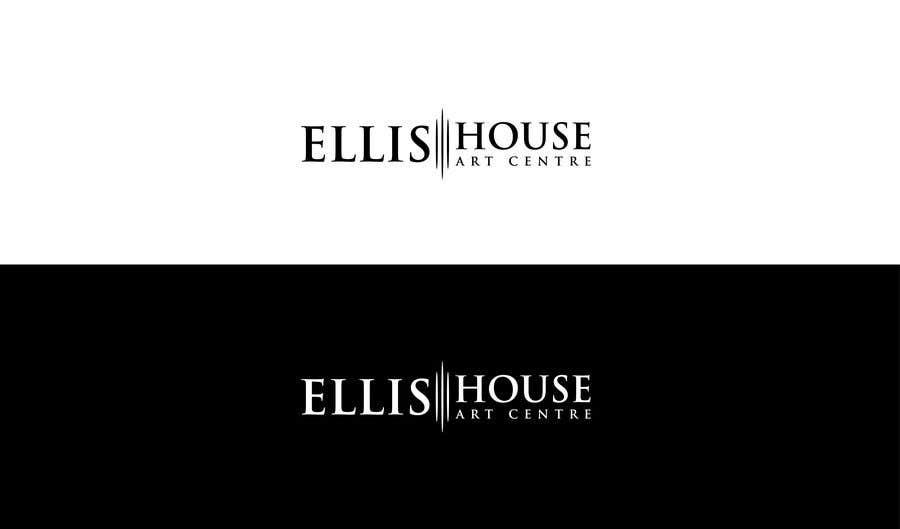 """Intrarea #                                        72                                      pentru concursul """"                                        Logo Design - Ellis House Art Centre                                     """""""