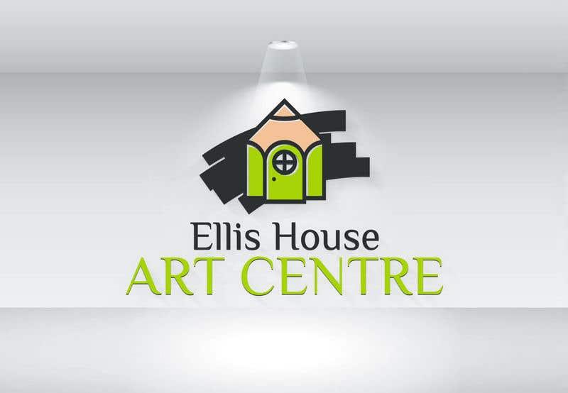 """Intrarea #                                        319                                      pentru concursul """"                                        Logo Design - Ellis House Art Centre                                     """""""