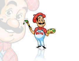 #34 for Cartoon character design - diseño de pintor caricatura by orrlov