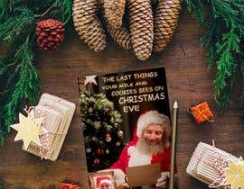 #12 cho I'd like a Santa hat photo shopped on both pictures of the guy and then combined together with the text shown on the first picture. This will be a Christmas card so feel free to add other Christmas-like images like lights around the photo...etc. bởi marianayepez