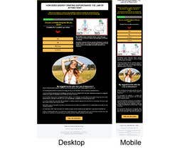 #1 for Design a landing page based on example by mustafa8892