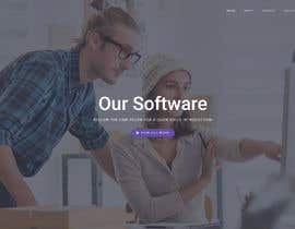 #3 untuk Wordpress Website for a startup software company - Submit mock up of home page, how long it will take you and your price to complete the entire website. oleh ngonzalz