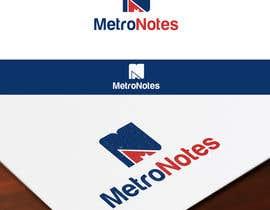 #28 for Design a Logo for Metronotes af Tonysgd