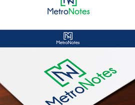 #29 for Design a Logo for Metronotes af Tonysgd
