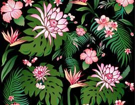 #30 for Graphic design for floral print to be used on fabric by namunamu