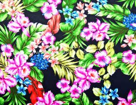 #20 для Graphic design for floral print to be used on fabric от noshinfariaprova
