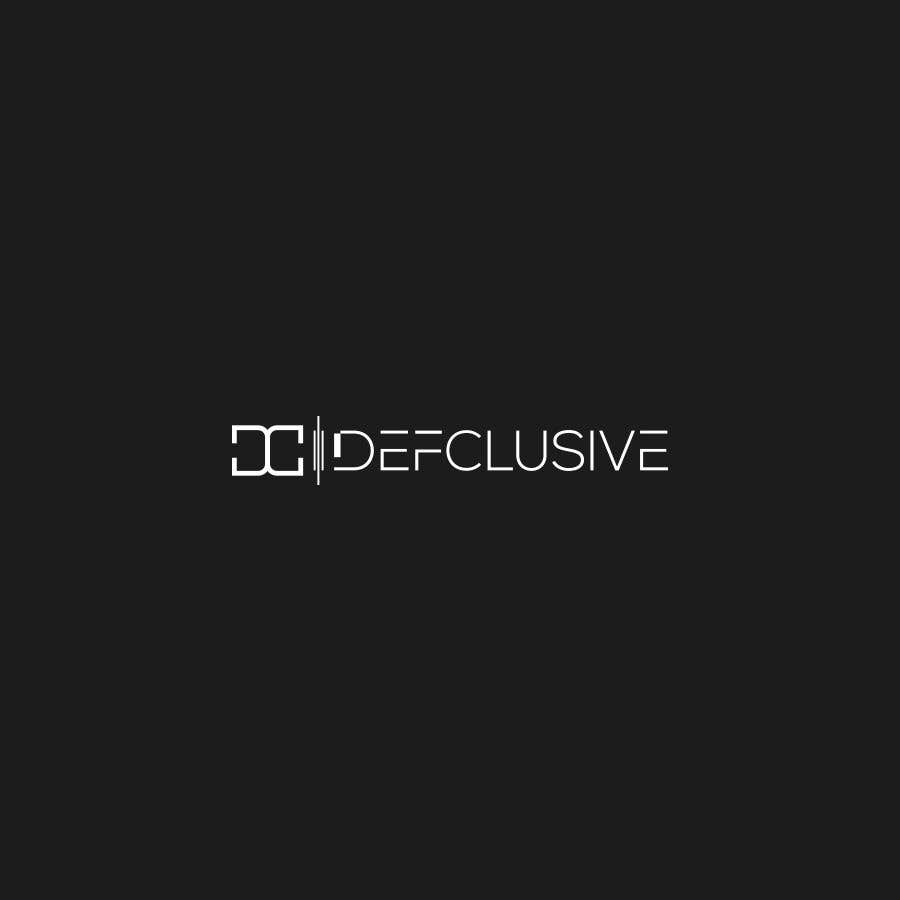 Kilpailutyö #1761 kilpailussa Defclusive needs a logo!