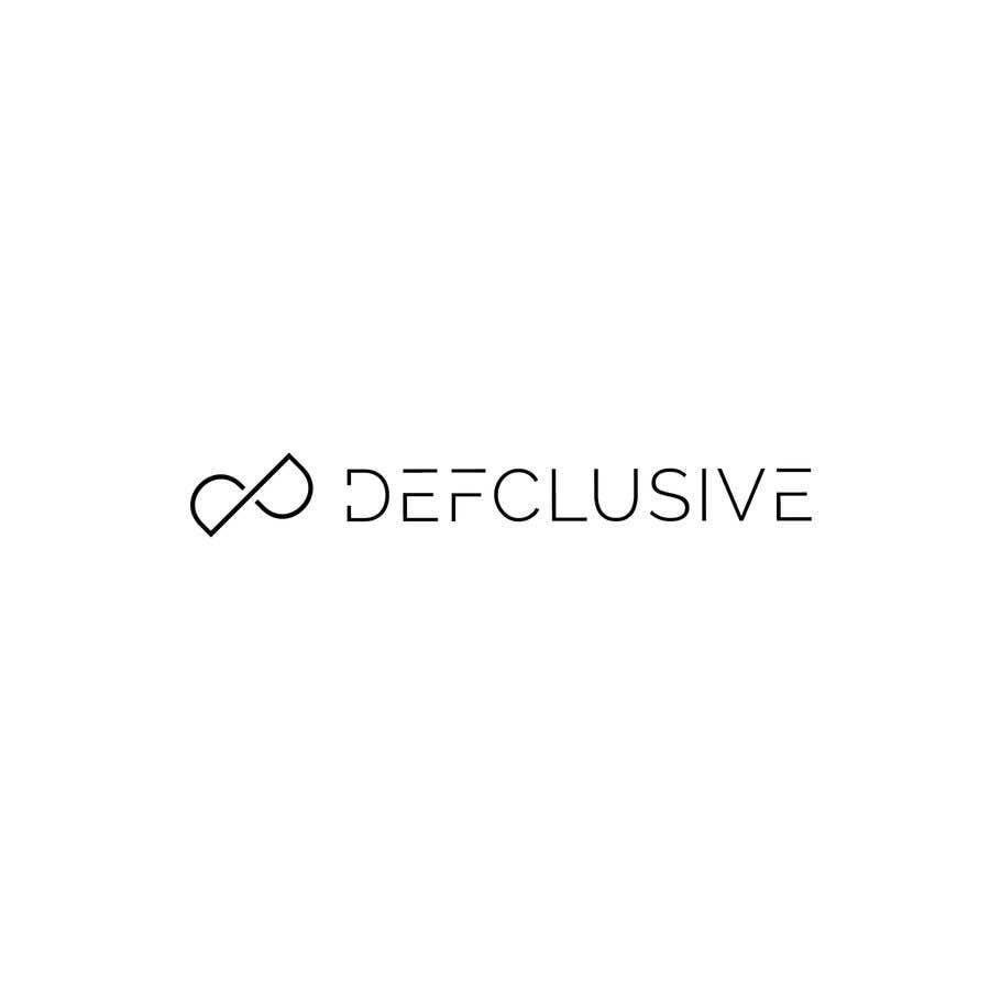 Kilpailutyö #1849 kilpailussa Defclusive needs a logo!
