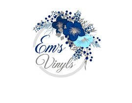 "#50 untuk I want a logo that says ""Em's Vinyls"" I want it to be feminine. I love the colors olive green, and white. I love boho and farmhouse style. I am using this logo for my business of vinyl cups, tshirts, car decals, etc.  - 17/11/2019 12:37 EST oleh nhussain7024"
