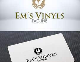 "#20 untuk I want a logo that says ""Em's Vinyls"" I want it to be feminine. I love the colors olive green, and white. I love boho and farmhouse style. I am using this logo for my business of vinyl cups, tshirts, car decals, etc.  - 17/11/2019 12:37 EST oleh DesignTraveler"
