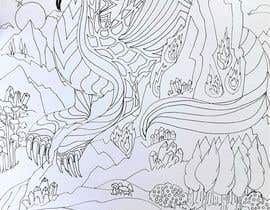 #14 cho B & W Coloring book page in style of Moebius bởi juliadafne123