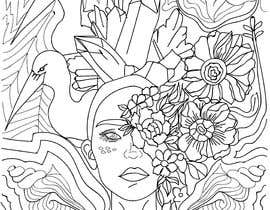 #20 cho B & W Coloring book page in style of Moebius bởi juliadafne123