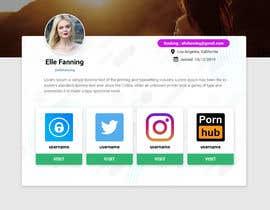 #60 cho Single webpage for user profiles bởi mdakshohag