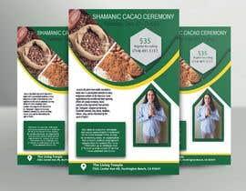 #55 pentru Flyer for Cacao Ceremony de către hmmustafij2