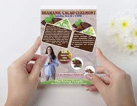 #56 pentru Flyer for Cacao Ceremony de către ExpressHasan