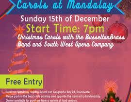 #5 para Design 2x Flyers for Christmas Carols at Mandalay 2019 por SyedRajib