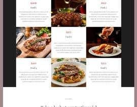 #7 untuk Website Design For a Bar and Steakhouse oleh sharifkaiser