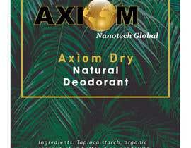 #8 para Design a Deodorant Label por shafiullm