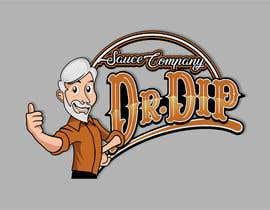 franklugo tarafından Dr.Dip - Sauce Company 3D Logo için no 4