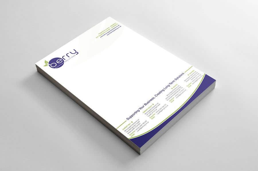 Bài tham dự cuộc thi #73 cho Design letterhead for business