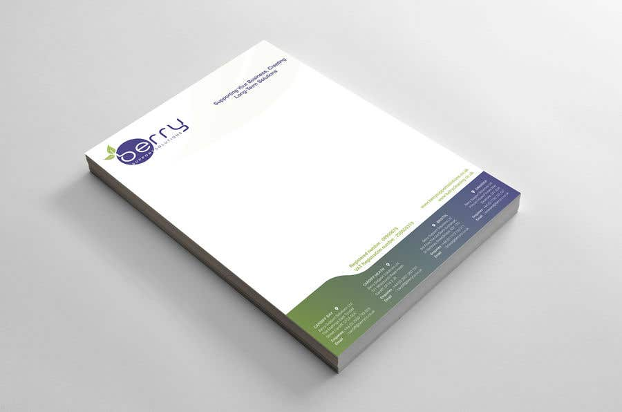 Bài tham dự cuộc thi #77 cho Design letterhead for business