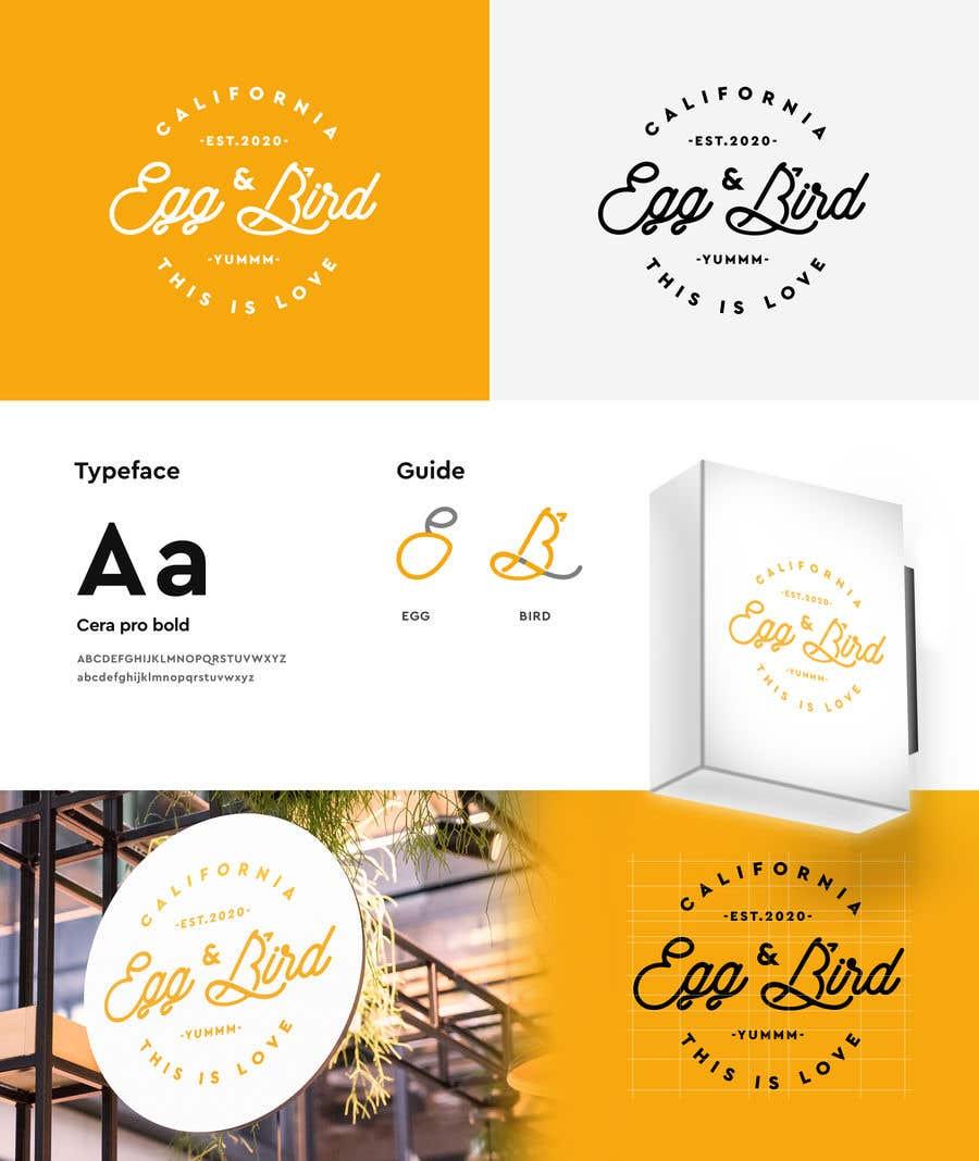 Penyertaan Peraduan #110 untuk Design Restaurant Name for exterior signage