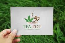 Logo design for tea cannabis company için Logo Design116 No.lu Yarışma Girdisi
