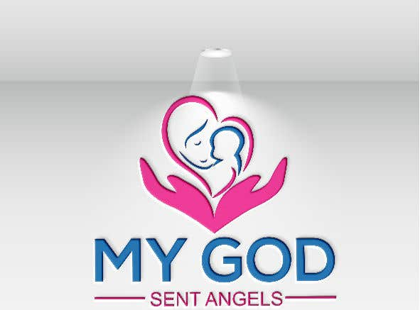 Bài tham dự cuộc thi #70 cho Design a logo for My God Sent Angels