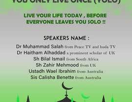 ARKamaldeen tarafından Poster for a Islamic Conference için no 60