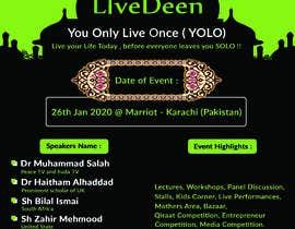#55 untuk Poster for a Islamic Conference oleh vaijaanabir1