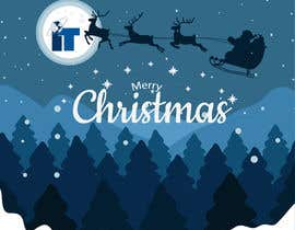 #77 cho Design Christmas logo and Christmas card in blue colors bởi shahbaz033217945