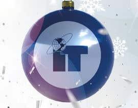 #80 cho Design Christmas logo and Christmas card in blue colors bởi dorotasosnowka