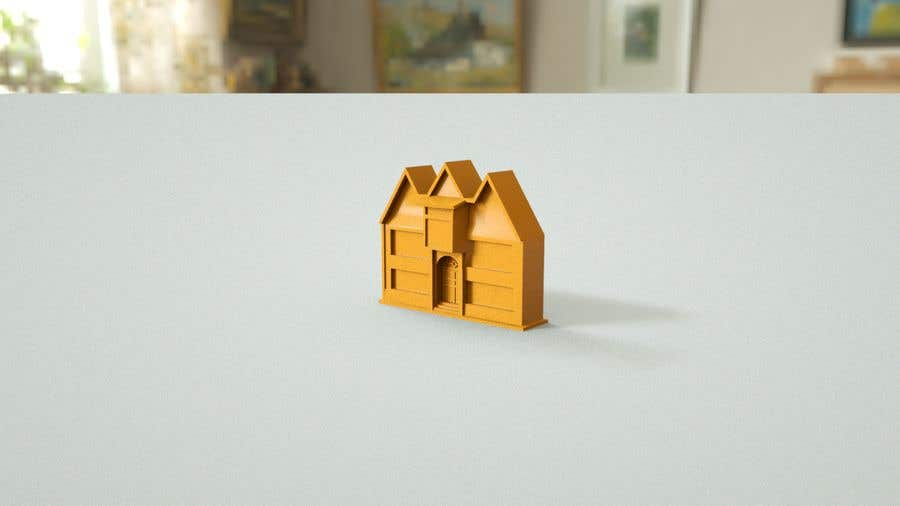 Contest Entry #8 for 3D Printable mansion/house in 1:24 scale