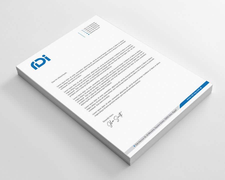 Penyertaan Peraduan #19 untuk RDI - Identity Development - Stationary & Guidelines