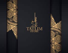 #62 untuk Logo the name tatlimstore and arabic تاتلم ستور oleh mohamedghida3